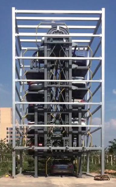 垂直循环泊车设备